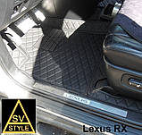 Кожаные Коврики Lexus RX 3D из Экокожи (2003-2009) Коврики Лексус РХ, фото 4