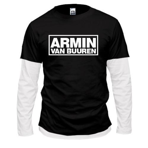 Лонгслив комби Armin Van Buuren