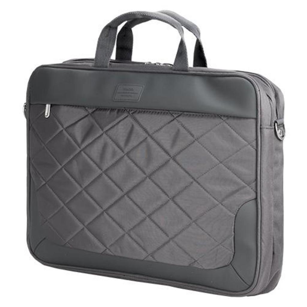 """Сумка для ноутбука 15.6"""" SUMDEX PON-322 Gray"""