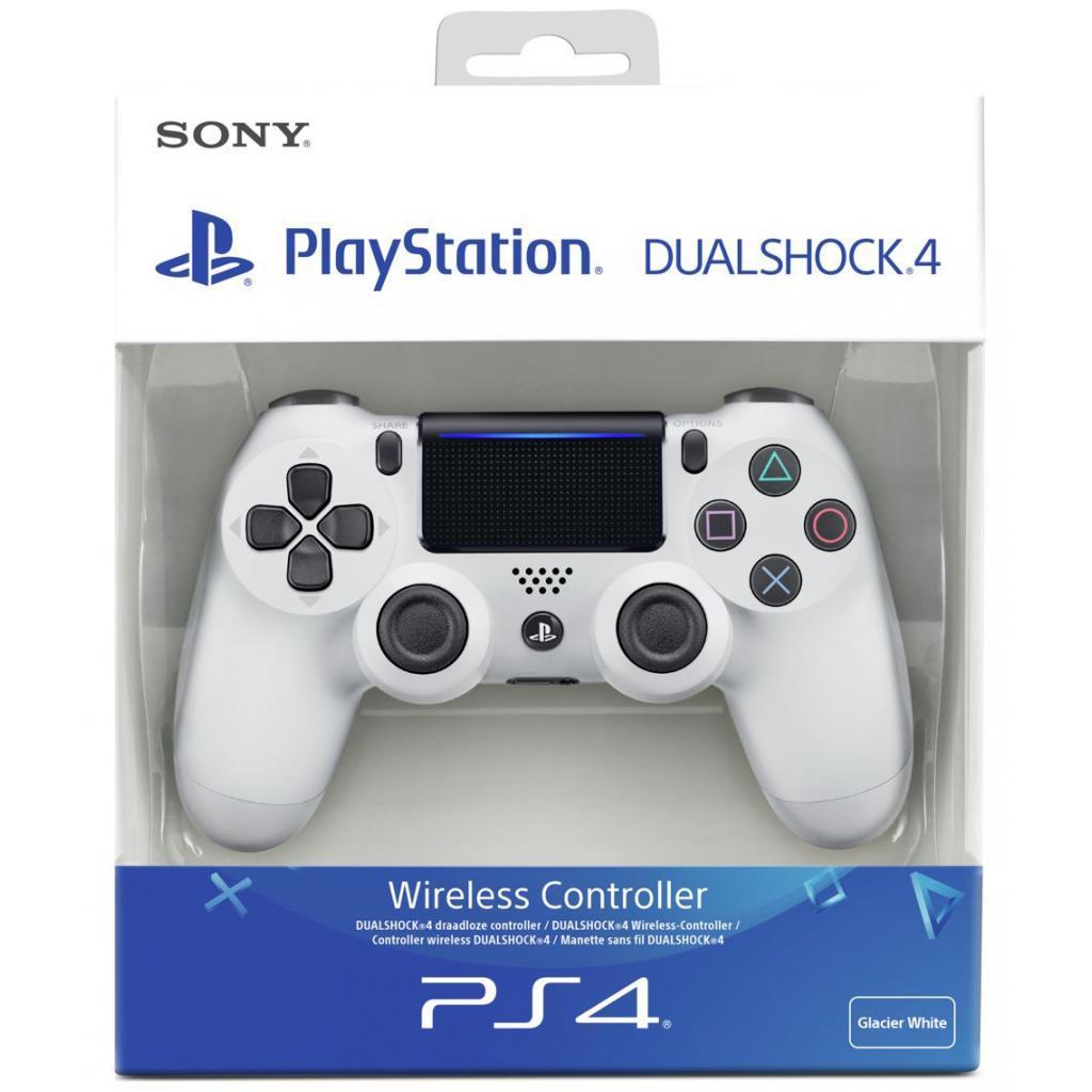 Геймпад SONY Dualshock 4 V2 для PS4 White  (9894759)