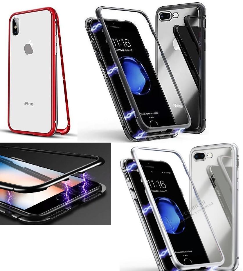 Apple iPhone 7/8 Чохол-накладка Magnet Case White