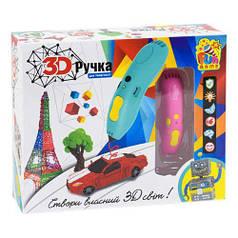 Ручка 3D (розовая) 7424