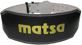 Ремень для тяжелой атлетики Matsa узкий