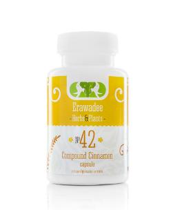 No.42 Лікування Цукрового Діабету Cinnamon 250мг, 100 капсул