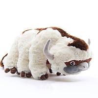 Плюшевая мягкая игрушка 55см. Большая мягкая игрушка Аппа Плюш Appa Plush из мультика Аватар