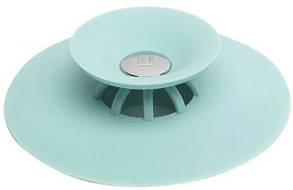 Фильтр-заглушка, пробка для ванны силиконовая MHZ 7301