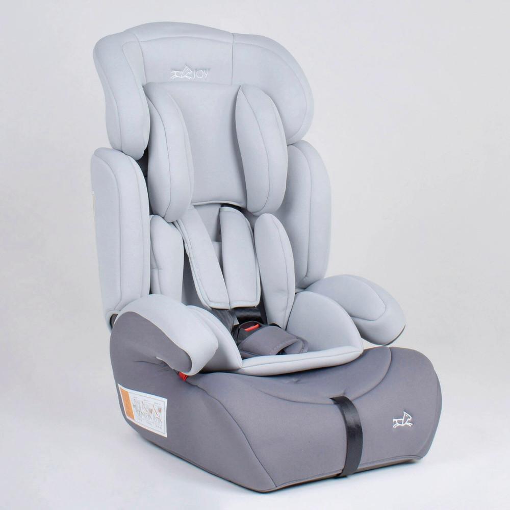 Дитяче автокрісло Joy 50923 світло-сірий, група 1/2/3, від 9-36 кг