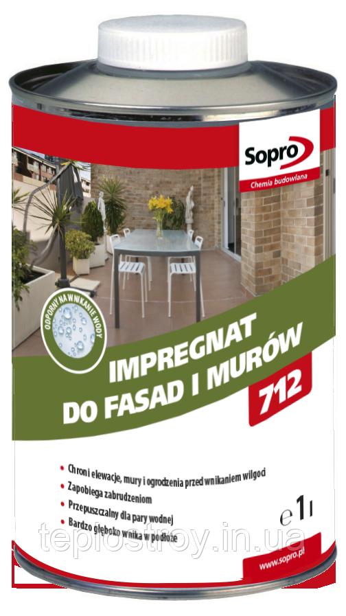 Sopro FAD 712 - Просочення для фасадів і стін 1л