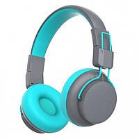Беспроводные Bluetooth наушники Gorsun GS-E92 Серый с синим