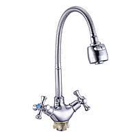 Змішувач для кухні Zegor DTZ4-E WSL827 (хром)