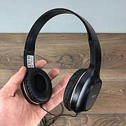 Накладные проводные наушники Hoco W24 с микрофоном для телефона компьютера ноутбука пк компьютерные набор 2в1