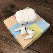 Беспроводные bluetooth наушники AirPros TWS с микрофоном для телефона блютуз наушники вкладыши