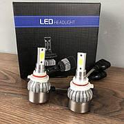 Светодиодные лед лампы для авто 9006 HB4 led лэд автомобильные лампочки на автолампы автомобильных фар в фары