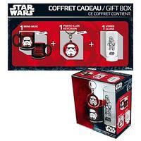 Подарунковий набір STAR WARS Trooper Чашка 290 мл, брелок, склянка