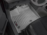 Ковры салона Toyota Sienna 2013- с бортиком серые передние 464751