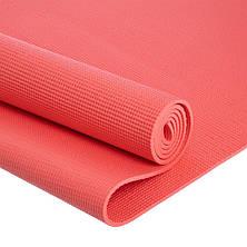 Йога мат (килимок для фітнесу і йоги) Щільний спортивний килимок (каремат) yoga mat, фото 3