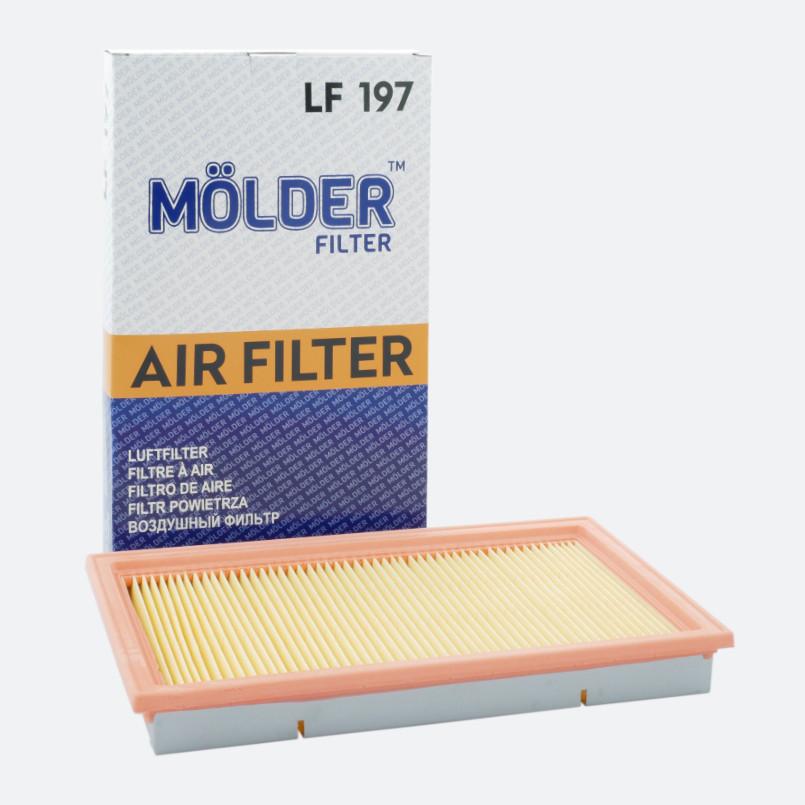 Воздушный фильтр MOLDER аналог WA9464/LX307/C2964 (LF197)