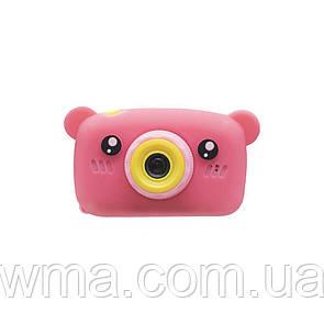 Детская камера T7 Мишка Цвет Красный