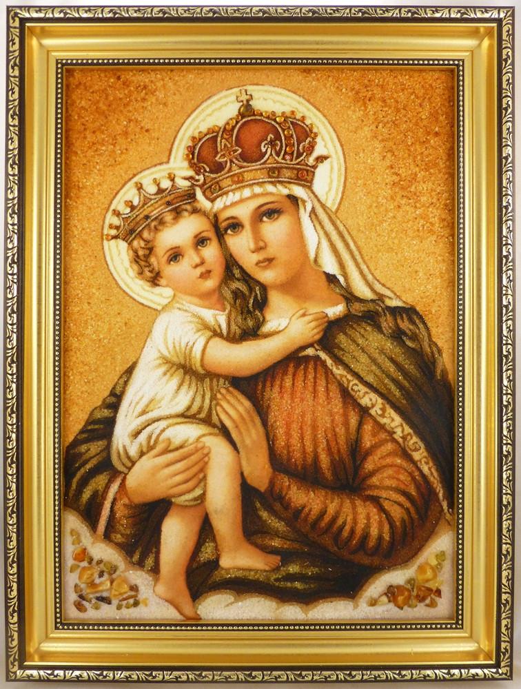 Богородиця і-03 Ікона Божої Матері 30*40