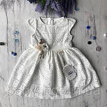 Летнее платье на девочку 51. Размер  92 см, 104 см, 110 см