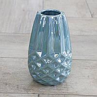 Ваза Меган цветная керамика d11см Гранд Презент 1009342