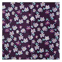 Ткань тм.синяя 50х50 см Сиреневые цветочки
