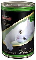 Консервы для кошек Leonardo Мясо с кроликом, 400г