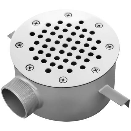 Aquaviva Слив донный Aquaviva AISI 304 (D250) круглый, под бетон