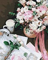 Картины по номерам 40х50 см Brushme Цветочный роман (GX 37483), фото 1