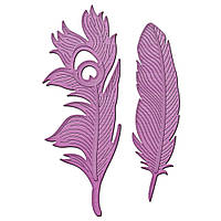 Ножи для вырубки Spellbinders Feathers On The Wind (879216023246)