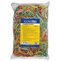 Гумки для грошей кольорові 1000гр, Economix