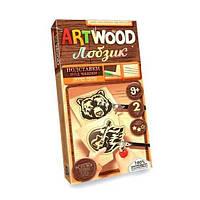 Набір для випилювання лобзиком Art Wood підставки міні Danko Toys