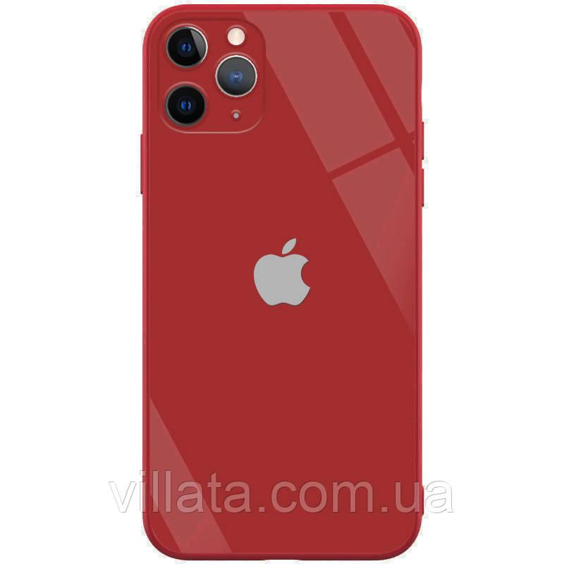 "TPU+Glass чохол GLOSSY Logo Full camera (opp) для Apple iPhone 11 Pro Max (6.5"")"