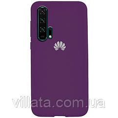 Чехол Silicone Cover Full Protective (AA) для Huawei Honor 20 Pro