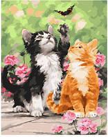 Картина по номерам 40х50 см Brushme Весенние котята (GX 25640), фото 1