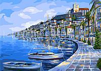 Картина по номерам 40х50 см Brushme Лодочная гавань (G 293), фото 1
