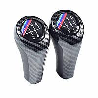 Универсальная Штатная Ручка переключения КПП БМВ 5 ступеней BMW M Sport Carbon Performance