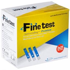 Тест-полоски Finetest Auto-coding Premium, 50 шт, Infopia