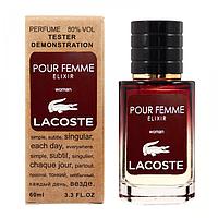 Lacoste Pour Femme Elixir TESTER LUX, женский, 60 мл