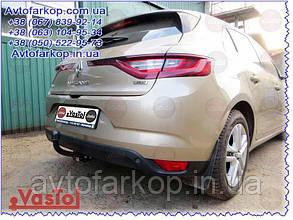Фаркоп Renault Megane 2 (седан 2003-2009)(Фаркоп Рено Меган 2)VasTol