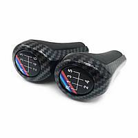 Универсальная Штатная Ручка переключения КПП БМВ 6 ступеней BMW M Sport Carbon Performance