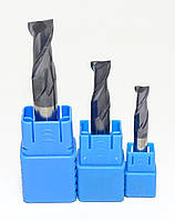 Фреза концевая 2-x заходная для станков ЧПУ (по металлу) D10 h25 L75 d10