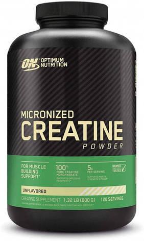 Креатин Creatine Powder Optimum Nutrition 600g, фото 2