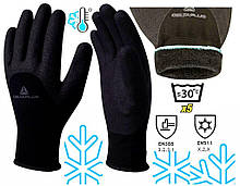 Перчатки Delta Plus VV750NO зимние акриловые с покрытием нитрил XL (10) WUAVV750NO10