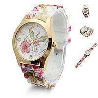 Женские часы Цветочки