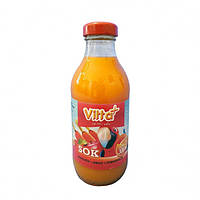Сок Vitta Plus морковь, яблоко-апельсин стекло 0.3 л