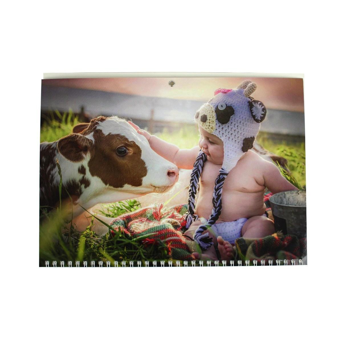 Календар квартальний (3-пружинний) 2021 Бика 04