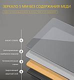 Зеркало DUSEL LED DE-M3001 80смх65см сенсорное включение+подогрев+часы/темп, фото 2