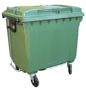 Sulo пластиковий контейнер для сміття 1100 літрів з педалем