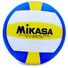 Мяч волейбольный Клееный PU MIK (MVP-200) VB-0030
